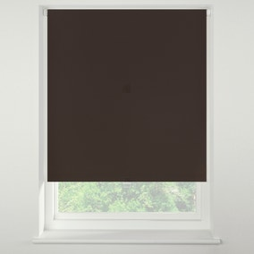 Swish Rich Cocoa Cordless Blackout Roller Blind