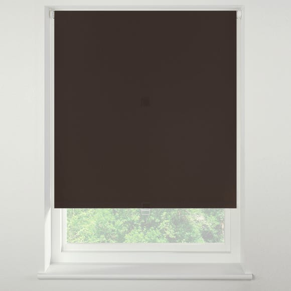 Swish Rich Cocoa Cordless Blackout Roller Blind  undefined