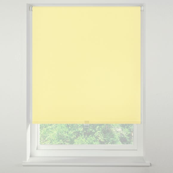 Swish Sherbet Cordless Blackout Roller Blind Yellow undefined