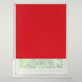 Swish Strawberry Cordless Blackout Roller Blind