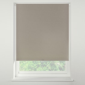Swish Taupe Cordless Blackout Roller Blind