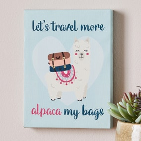 AI Alpaca My Bags Mini Canvas