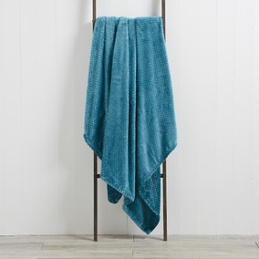 Evan 130cm x 180cm Teal Throw