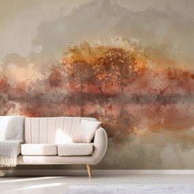 Abstract Landscape Mural Wallpaper