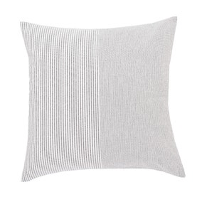 Braxton White Stripe Cushion