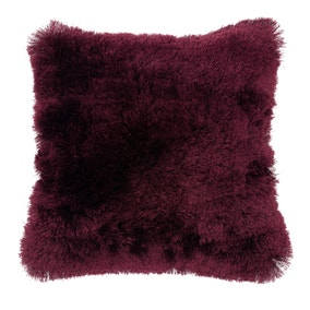 Fine Furry Plum Cushion
