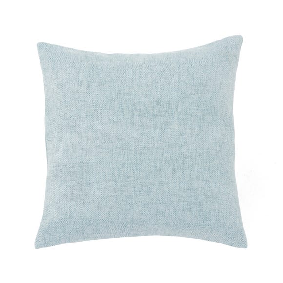 Westley Chenille Cushion Duck Egg (Blue) undefined