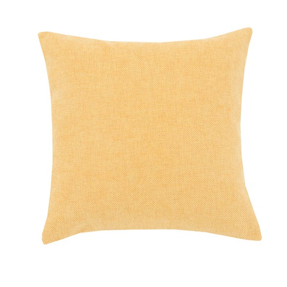 Westley Chenille Cushion Ochre (Yellow) undefined