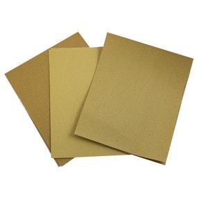 Dekton 10 Piece Assorted Sandpaper