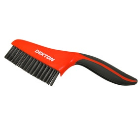 Dekton Soft Grip Carbon Wire Brush