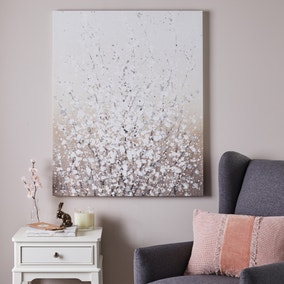 Abstract Blossom Canvas