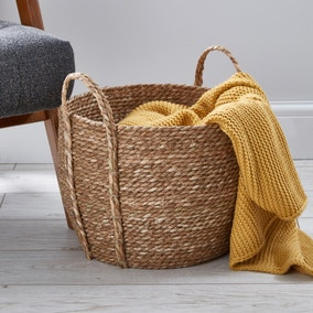 Rush Natural Storage Basket