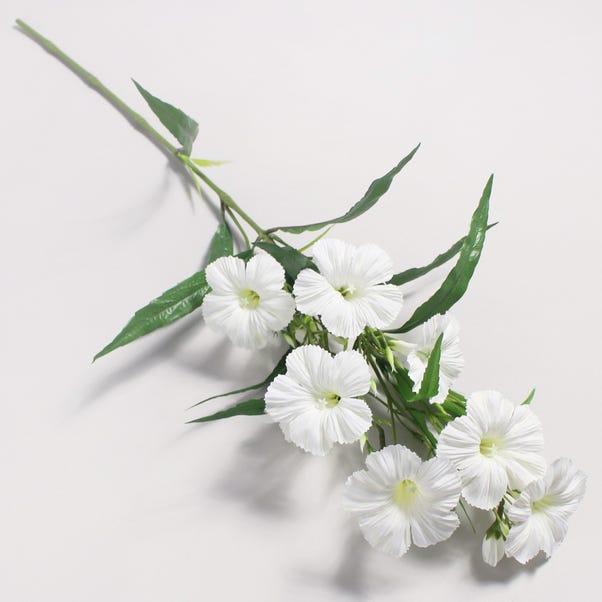 Artificial Petunia White Single Spray 78cm White