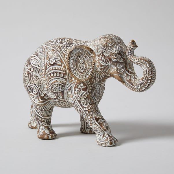 Resin Wood Effect Elephant Grey