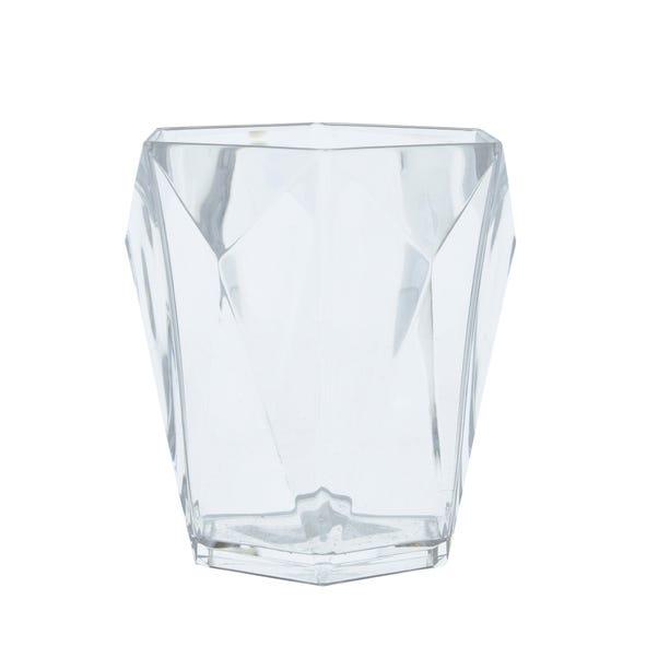 Hexagon Clear Tumbler Clear