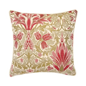 Westminster Floral Red Cushion Cover