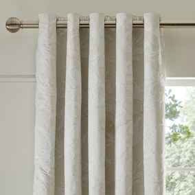 Dorma Acanthus Jacquard Blackout Eyelet Curtains