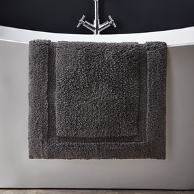 Hotel Cotton Graphite Bath Mat