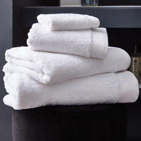 Hotel Pima Cotton White Towel