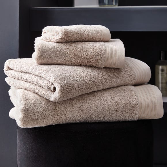 Hotel Pima Cotton Natural Towel Natural undefined