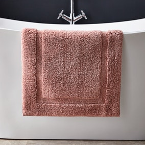 Hotel Cotton Dusky Pink Bath Mat