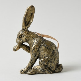 Hanging Hare Ornament