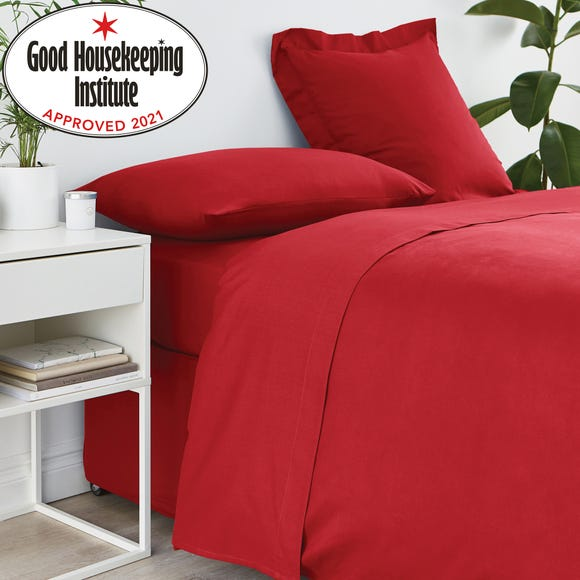 Non Iron Plain Flat Sheet Red undefined