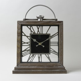 Salvage Wooden Clock