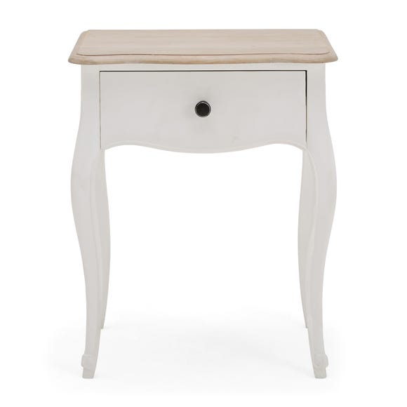 Amelie Painted Side Table White