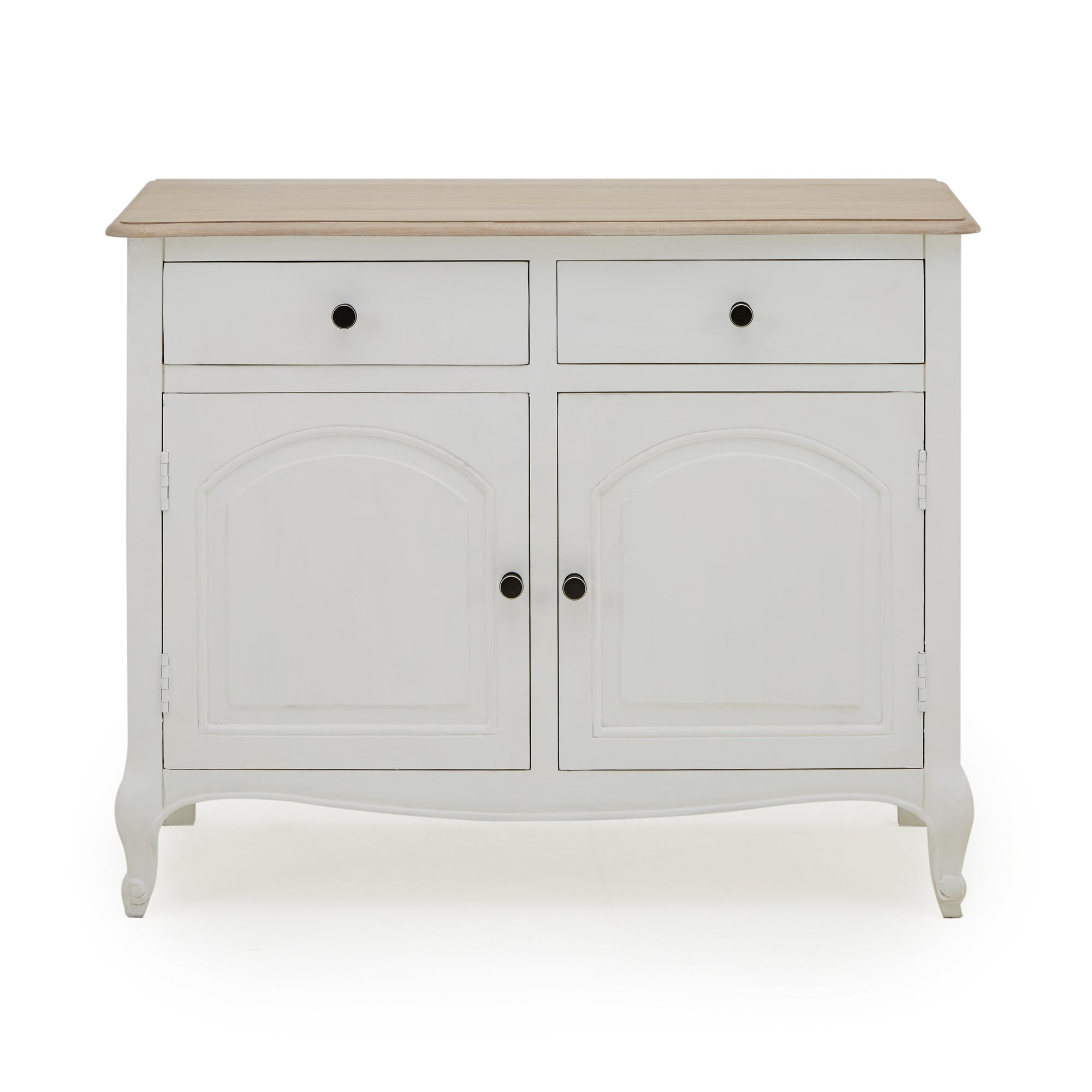 Photo of Amelie painted small sideboard white