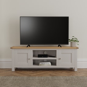 Bromley Grey Wide TV Stand