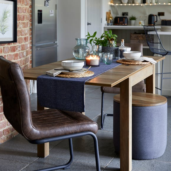 Fulton Flip Top Dining Table Pine