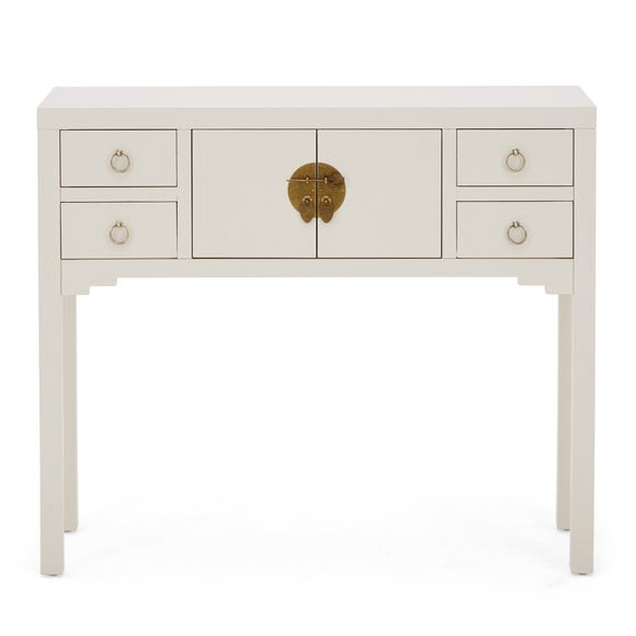 Hanna Oyster Console Table Oyster (Grey)