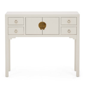 Hanna Oyster Console Table
