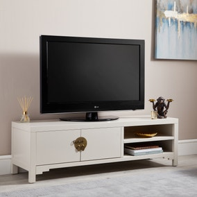 Hanna Oyster Wide TV Stand