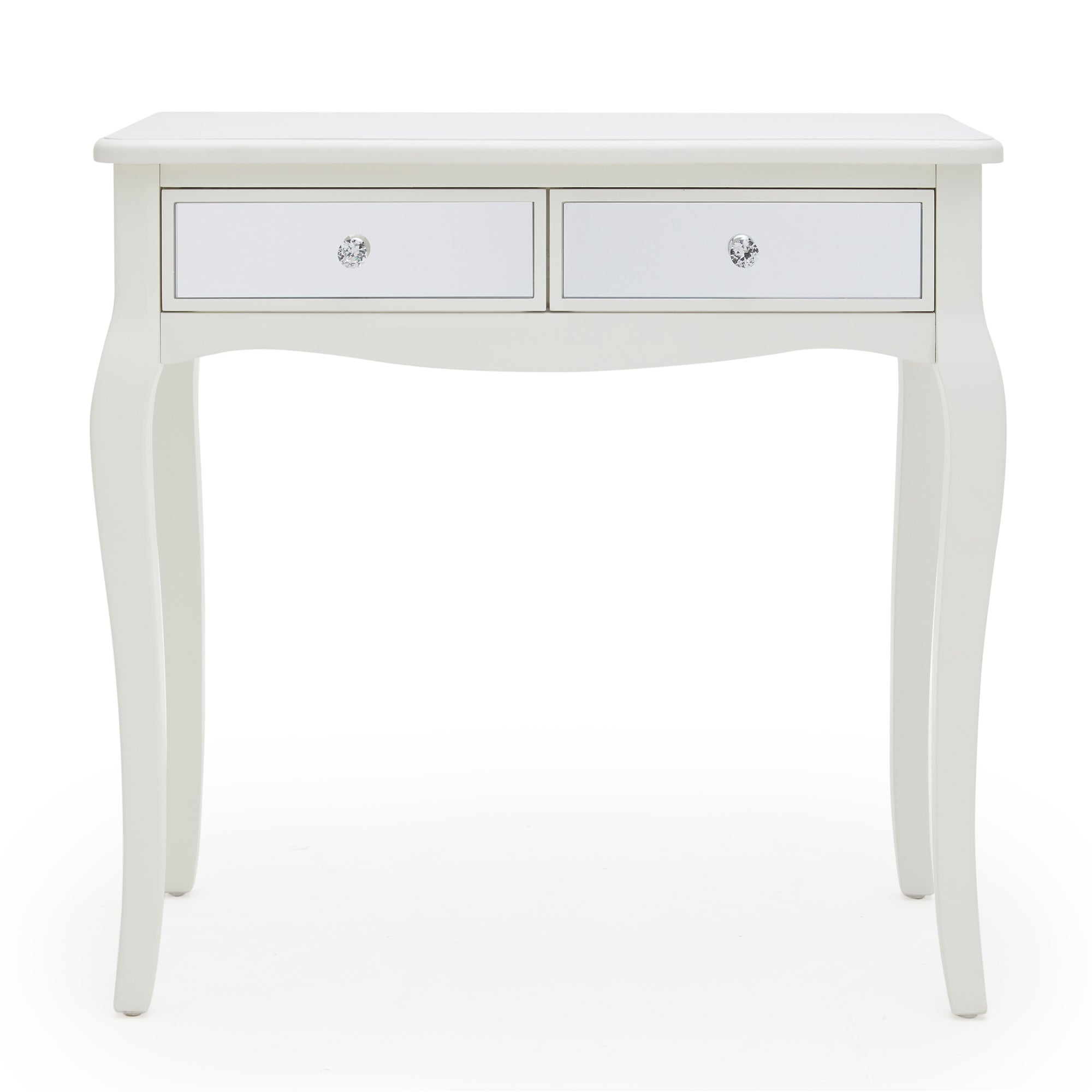 Palais Mirrored Ivory Dressing Table Cream