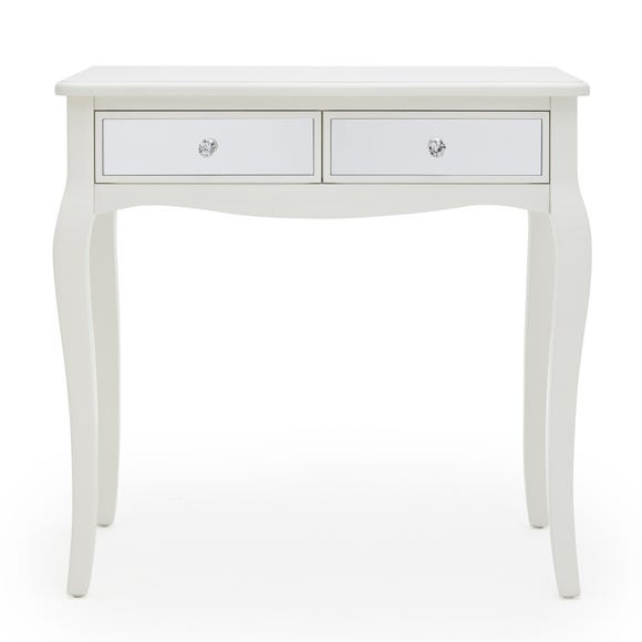 Palais Mirrored Ivory Dressing Table Ivory