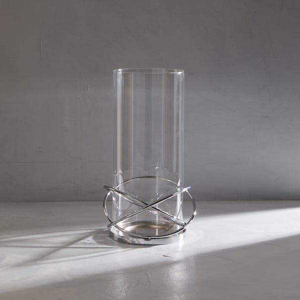 Dorma Large Circular Lantern Silver