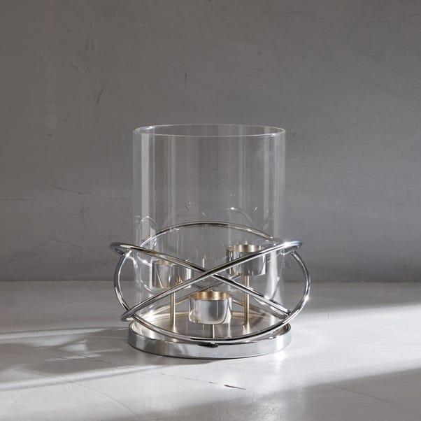 Dorma 3 Circular Tealight Holder Silver