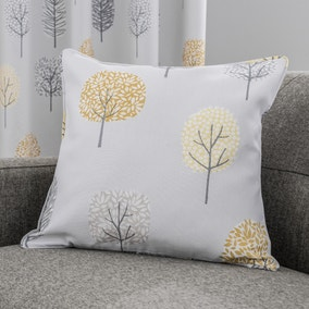 Sweet Trees Ochre Cushion