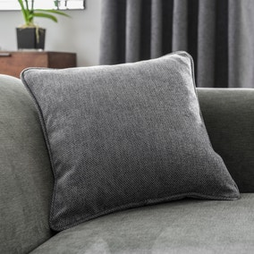 Oxford Grey Chenille Cushion