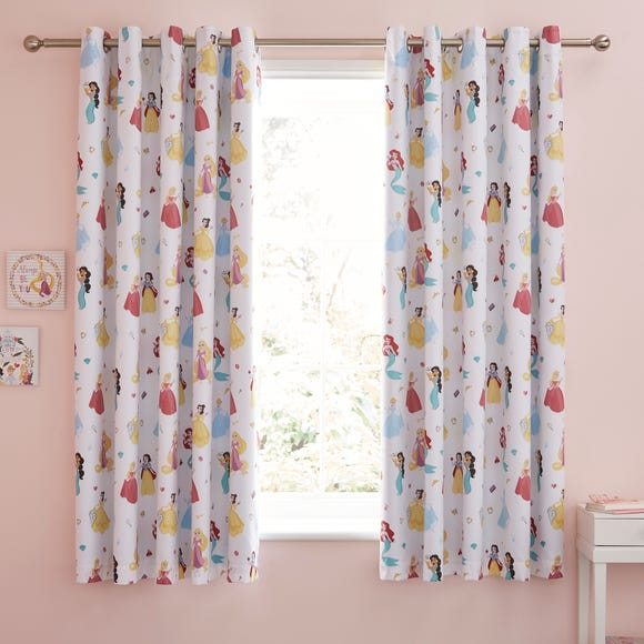 Disney Princess Blackout Eyelet Curtains Dunelm