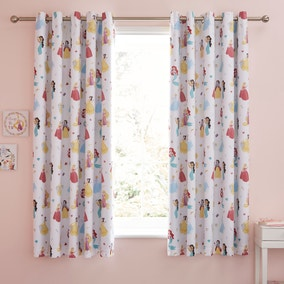 Disney Princess Blackout Eyelet Curtains