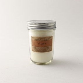 Churchgate Island Clear Jar Candle