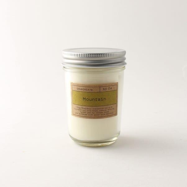 Churchgate Mountain Clear Jar Candle Clear