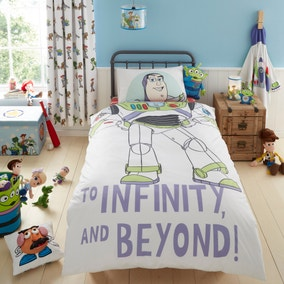 Disney Toy Story Character Reversible Single Duvet Cover and Pillowcase Set