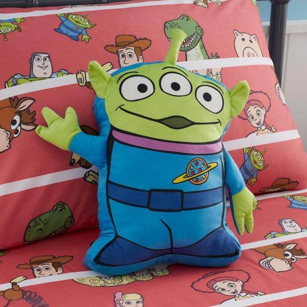 Disney Toy Story Alien Cushion MultiColoured