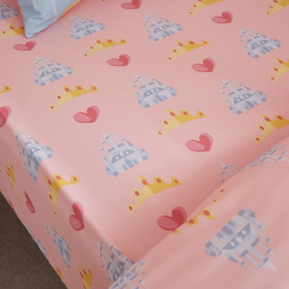 Disney Princess Fitted Sheet MultiColoured undefined