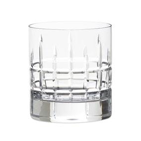 Set of 2 Crystal Cut Glass 300ml Tumbler Glasses