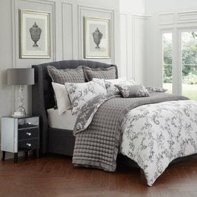 Dorma Ophelia Charcoal Bedspread